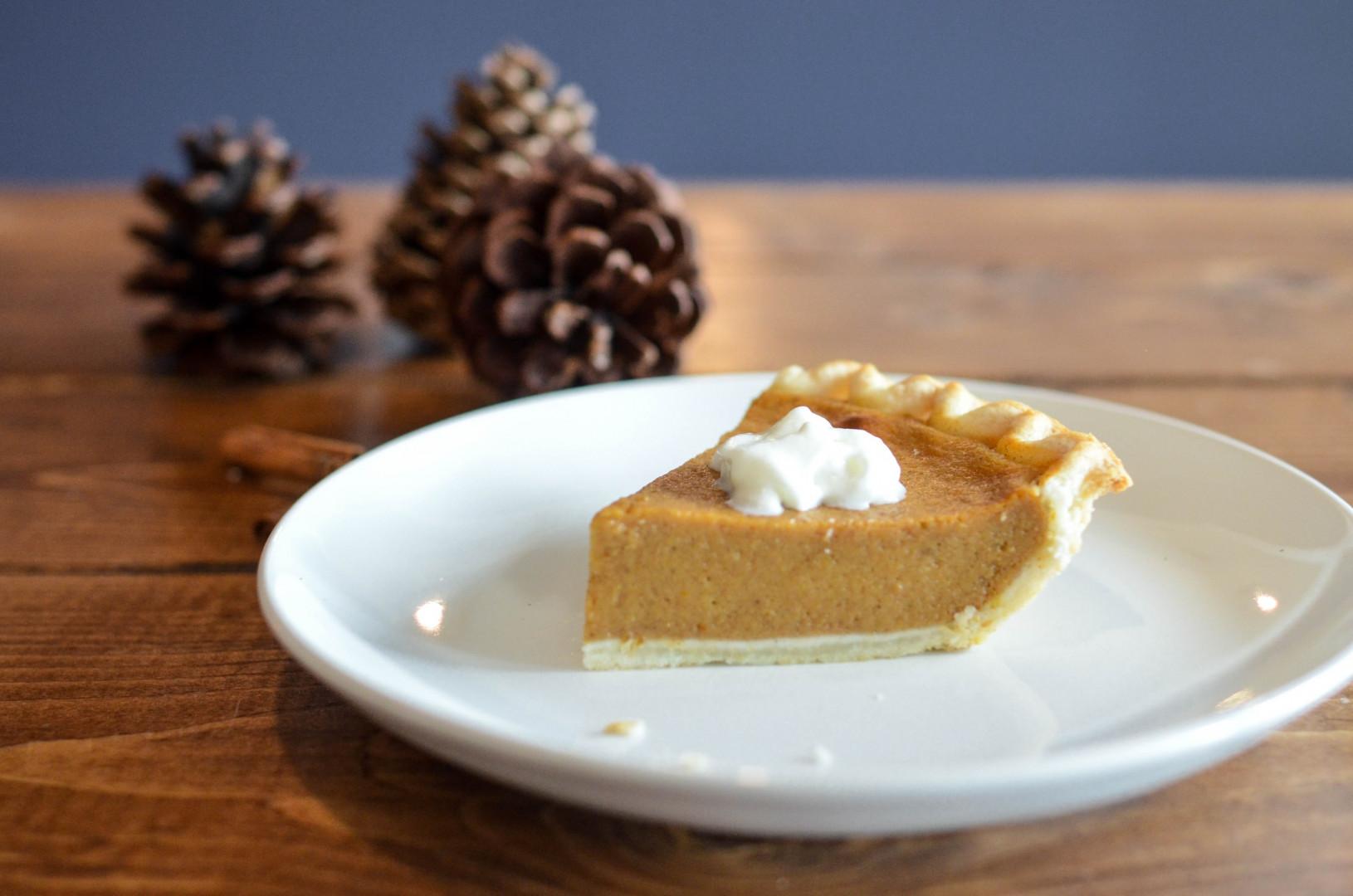La pumpkin pie pour le dessert