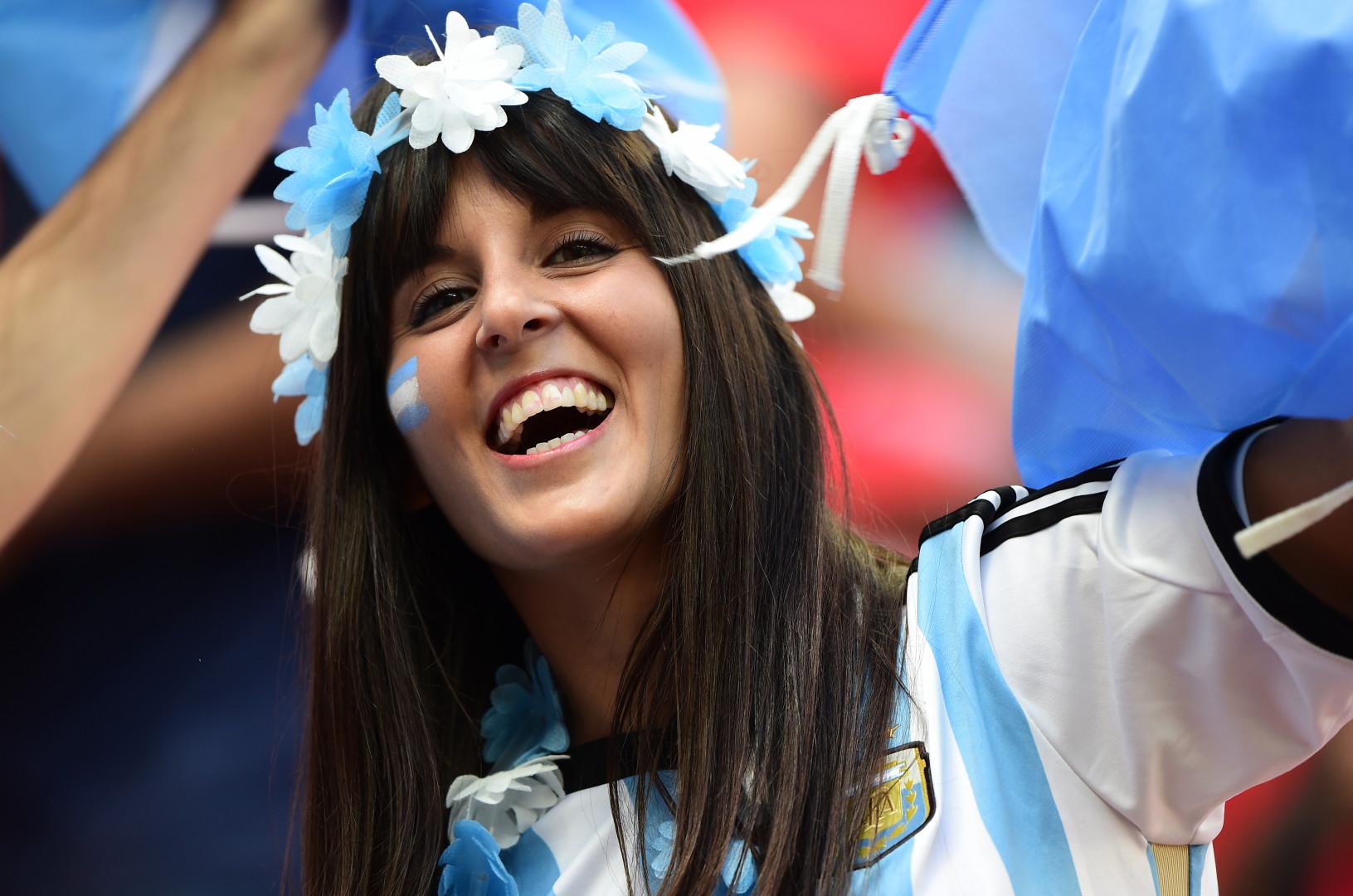 L'Argentine a parfois déçu dans le jeu proposé sur les terrains, mais pas les tribunes