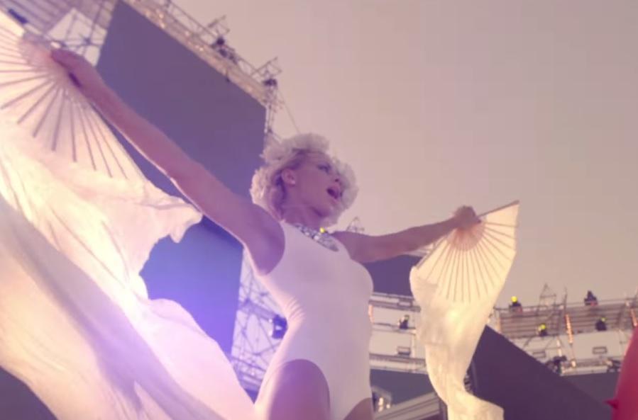 Une danseuse à l'EMF