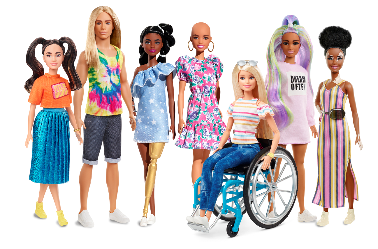 Nouvelle gamme Fashionistas de Barbie