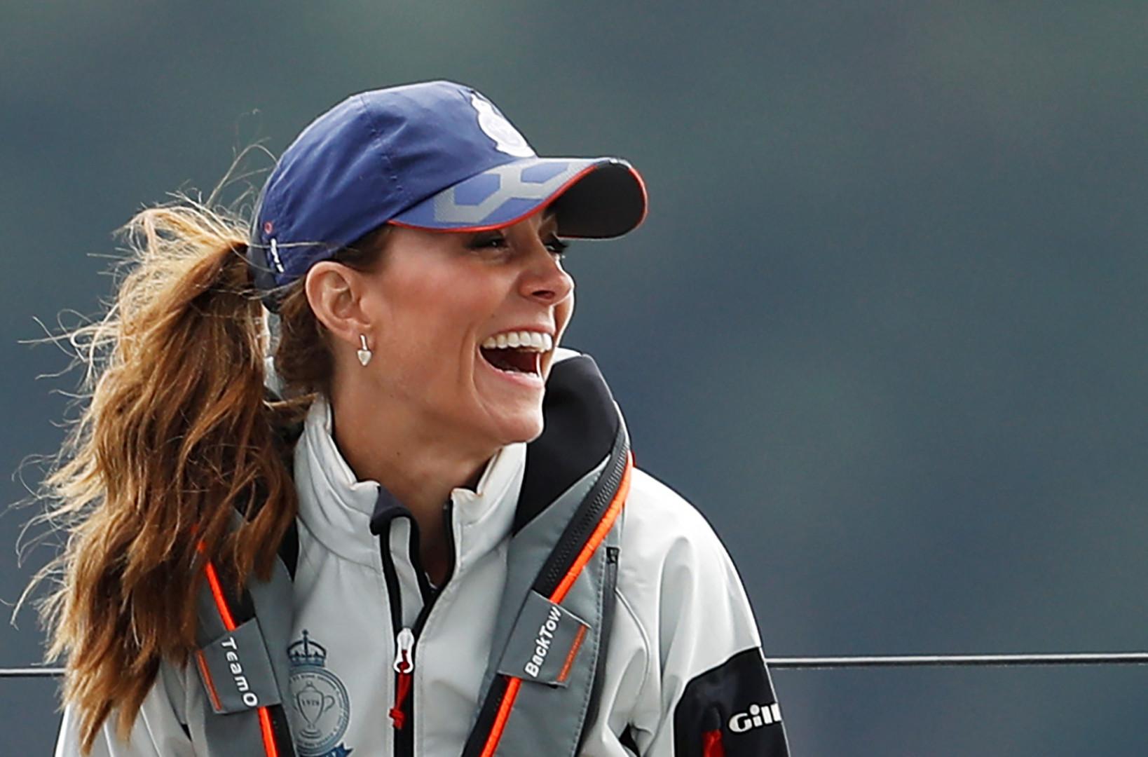 Kate Middleton, en pleine course
