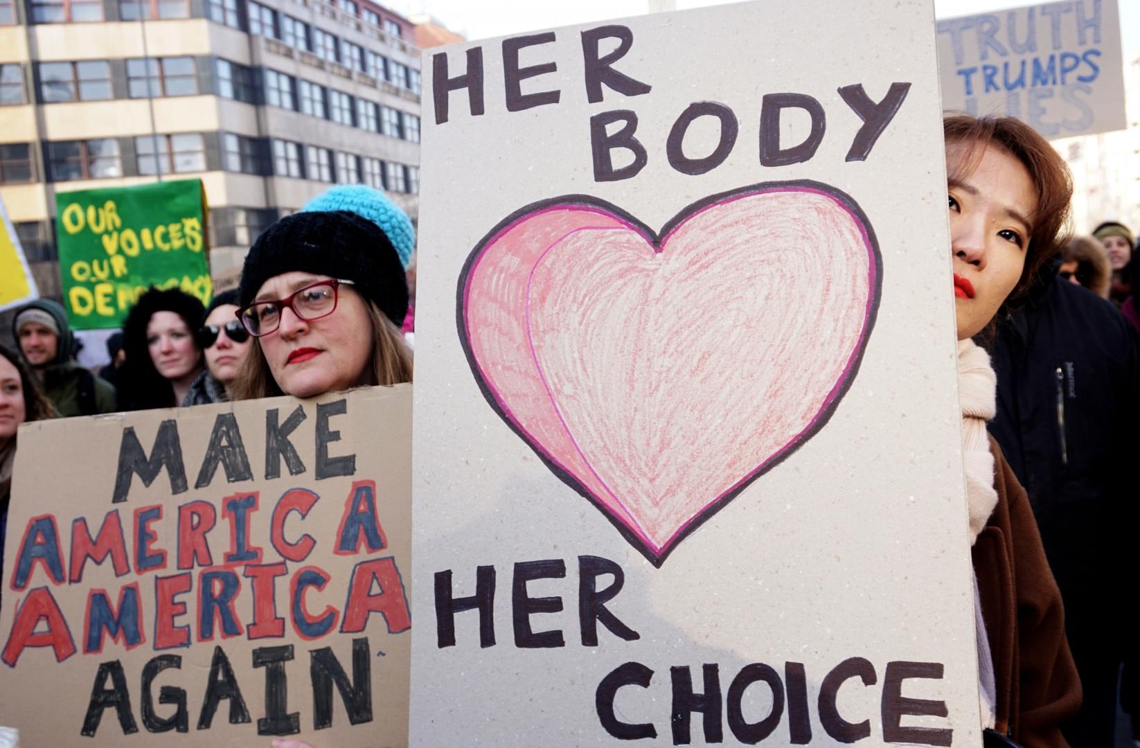 Les femmes mobilisées contre Trump en République Tchèque