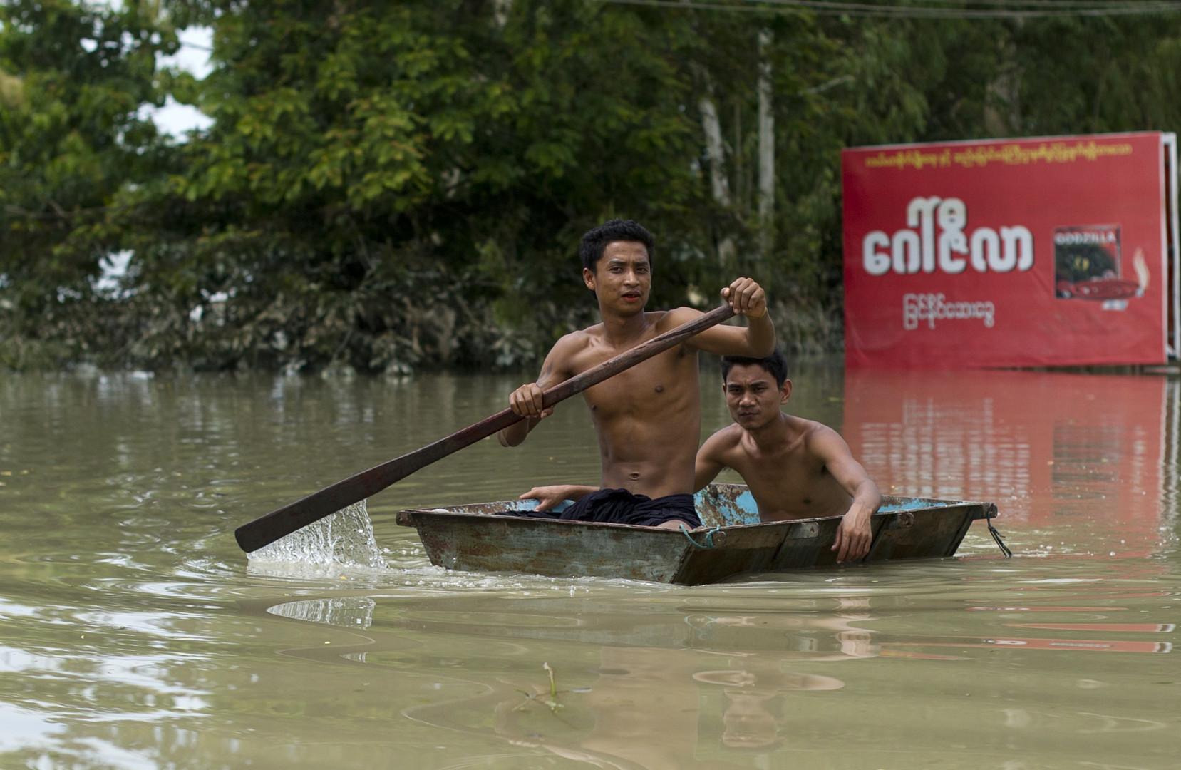 Les inondations ont déjà fait une cinquantaine de morts