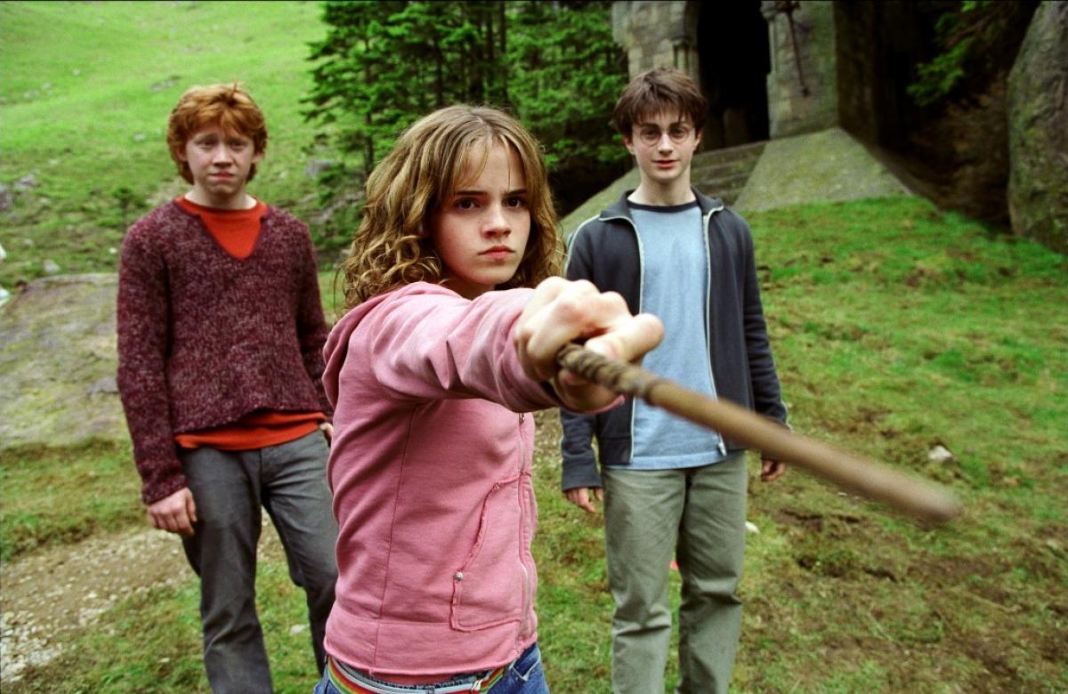 """Emma Watson dans """"Harry Potter et le Prisonnier d'Azkaban"""" (2004)"""