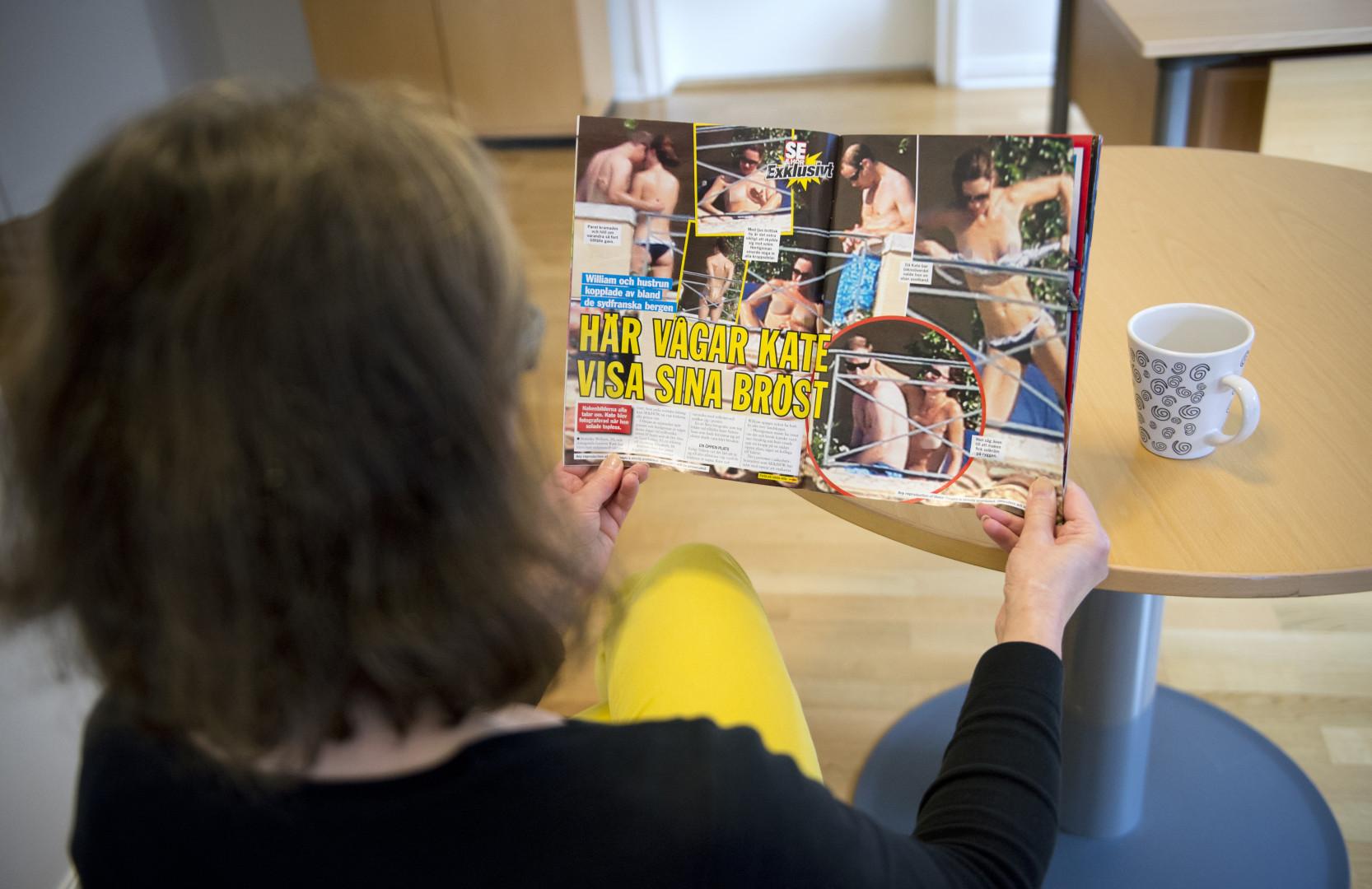 Des photos de Kate et William en vacances fuitent dans la presse suédoise en septembre 2012