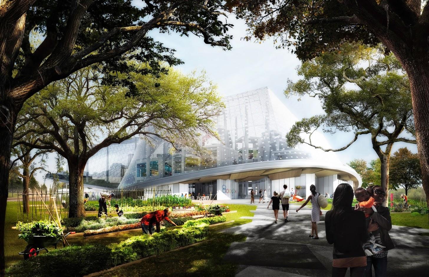 Les espaces verts sont essentiels au projet.