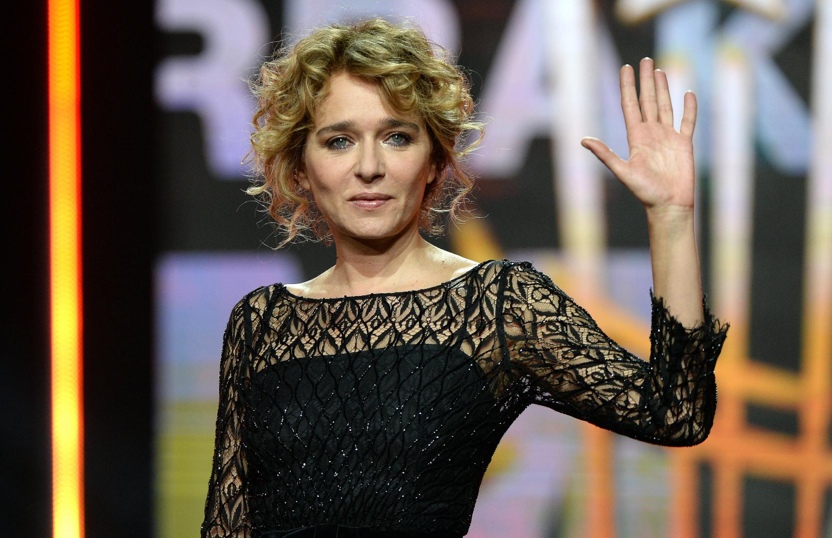 L'actrice italienne Valeria Golino à Marrakech le 12 décembre 2015