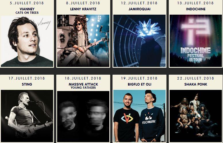 Prog festival de Nimes 2