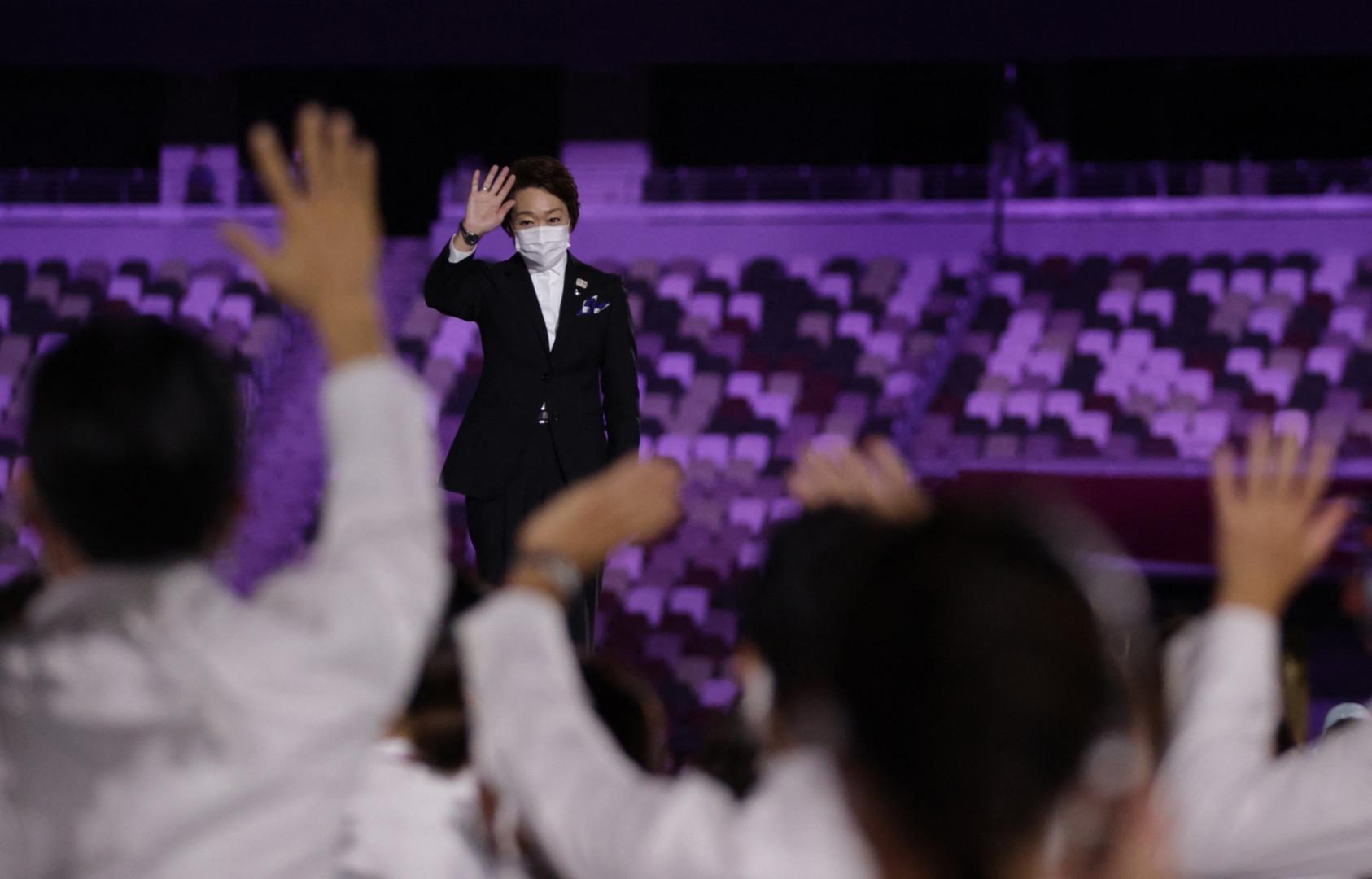 Seiko Hashimoto, présidente du Comité d'organisation des Jeux de Tokyo
