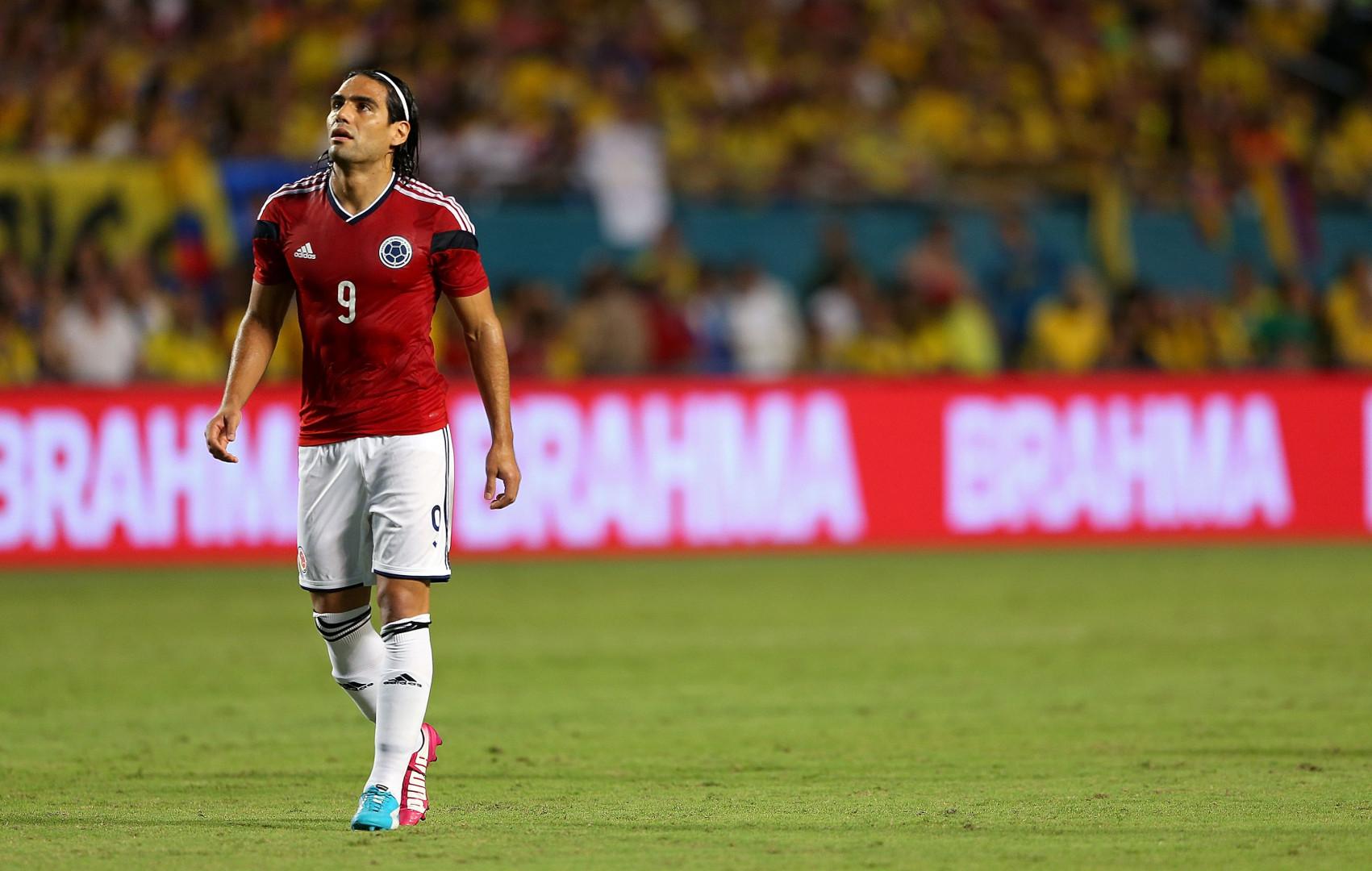 Sous le maillot colombien, Radamel Falcao devrait avoir l'occasion de rattraper les deux dernières années