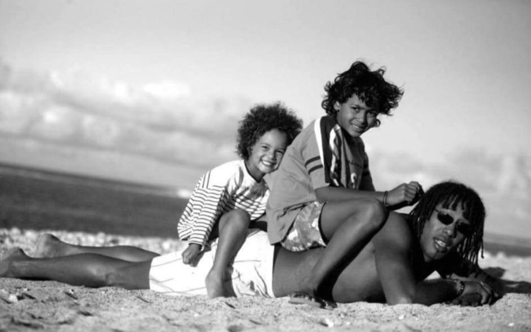 Ilana, Melvyn et Jackson Richardson