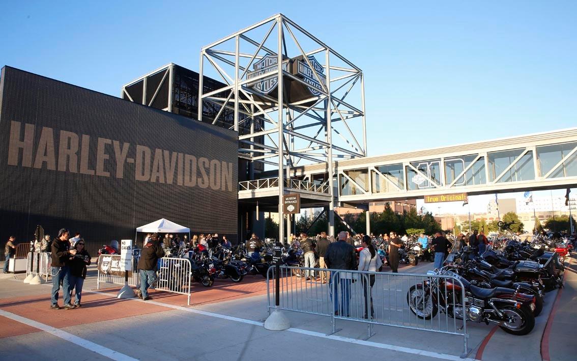 La route du blues : Le musée Harley à Milwaukee
