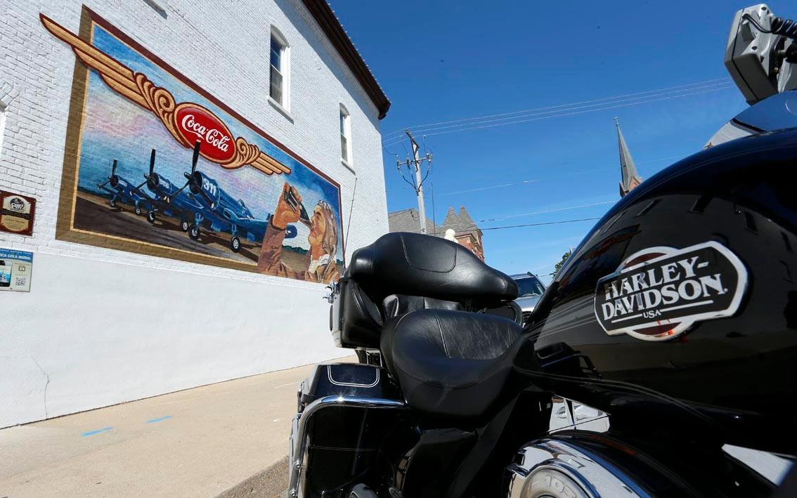 La route du blues : Pontiac et ses peintures murales