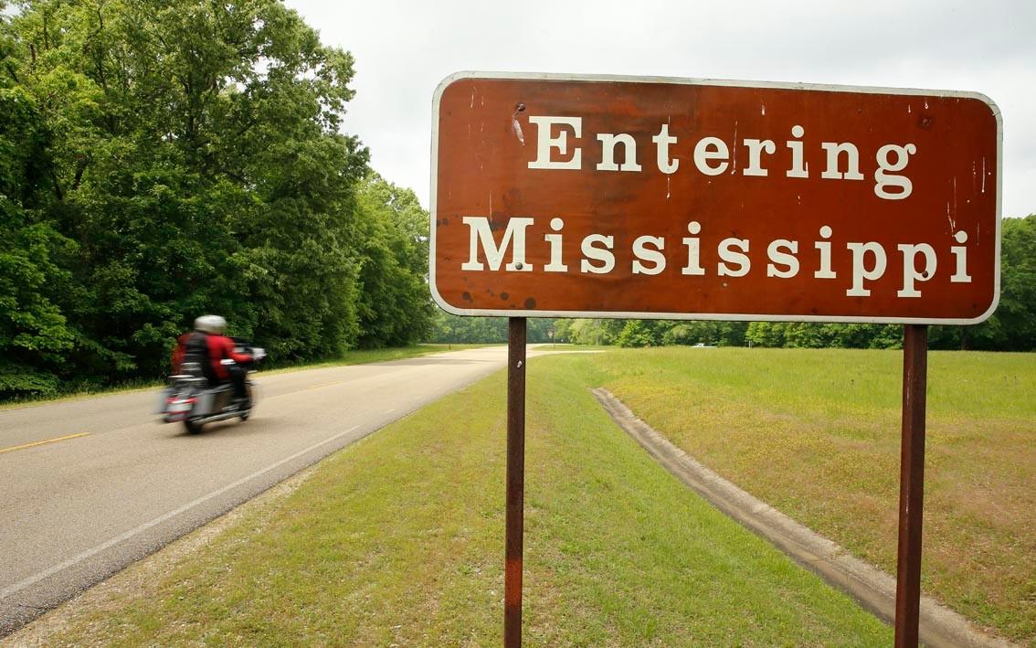 La route du blues : Le Mississippi, authentique.