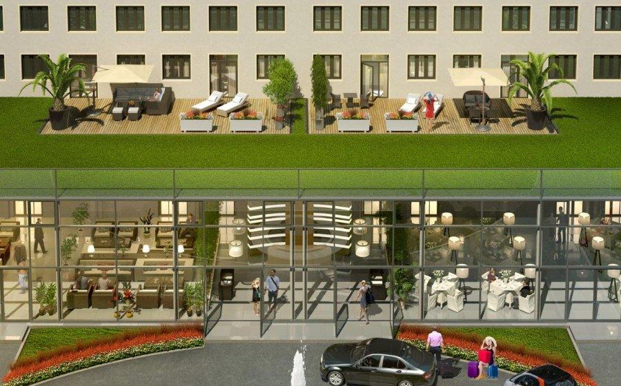 Certaines suites auront une terrasse aménagée