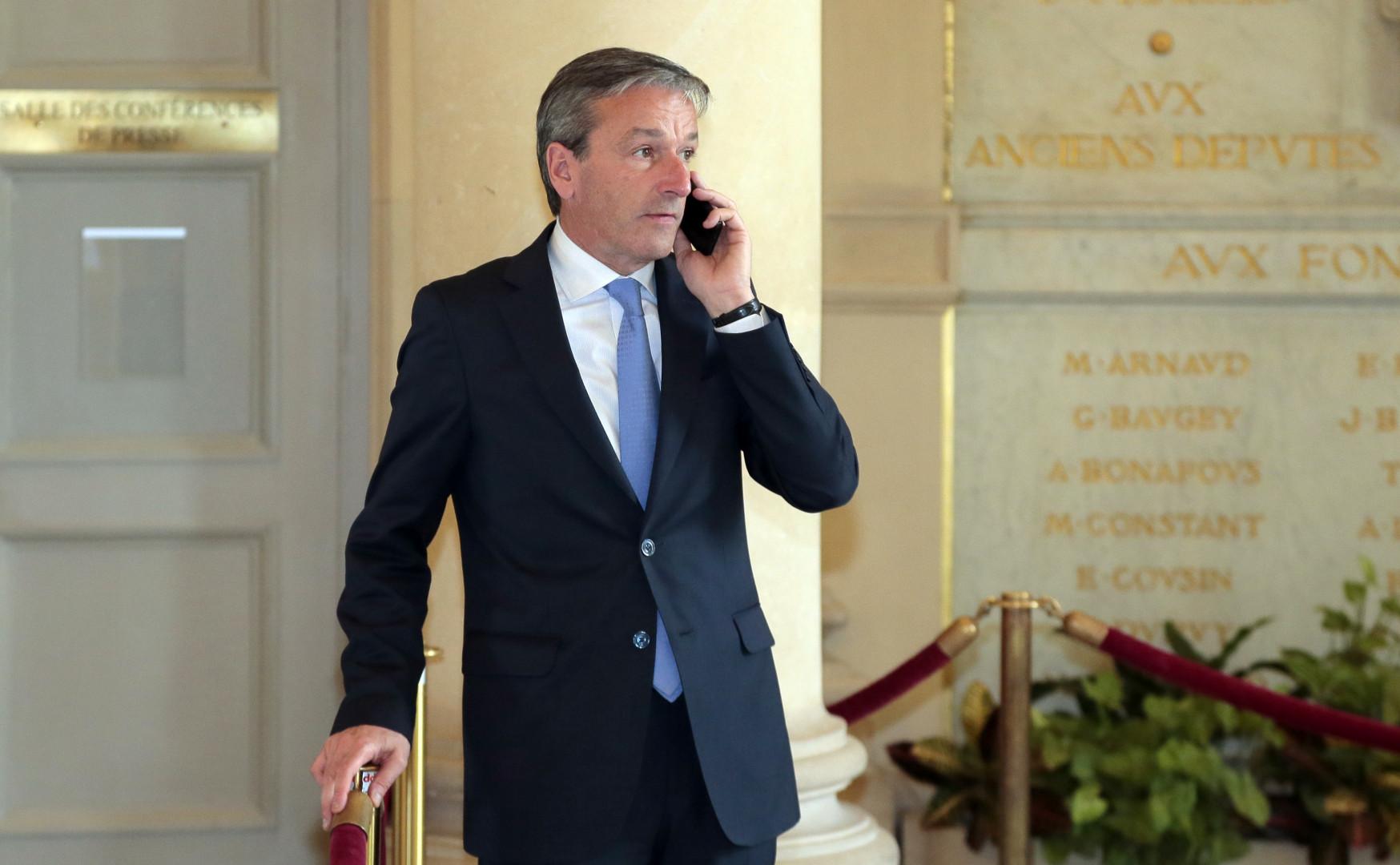 Philippe Vigier était tête de liste de l'Union de la droite pour les élections régionales dans le Centre-Val de Loire.