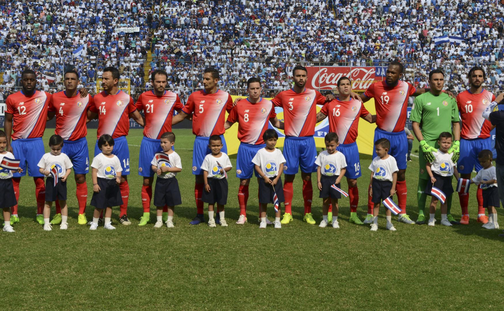 Coupe du Monde 2018 : le Costa Rica est dans le groupe E