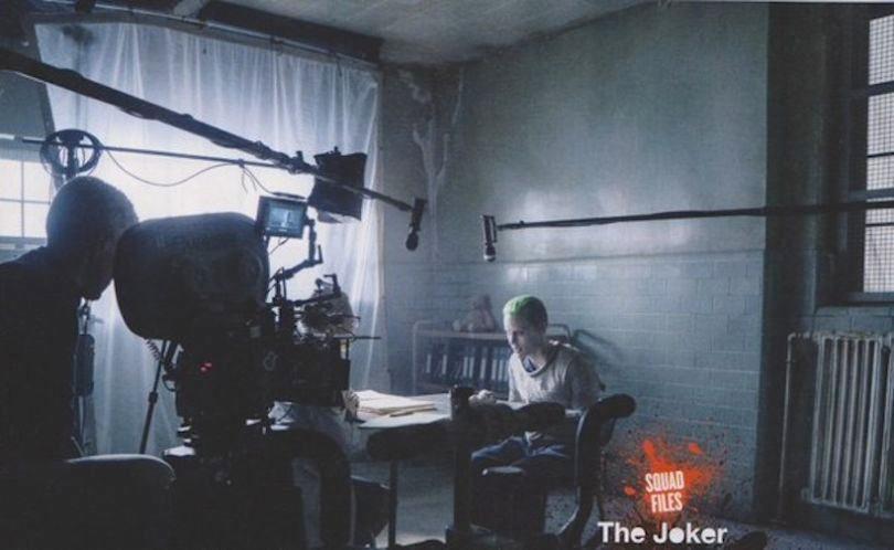 """Le Joker pendant le tournage de """"Suicide Squad"""""""
