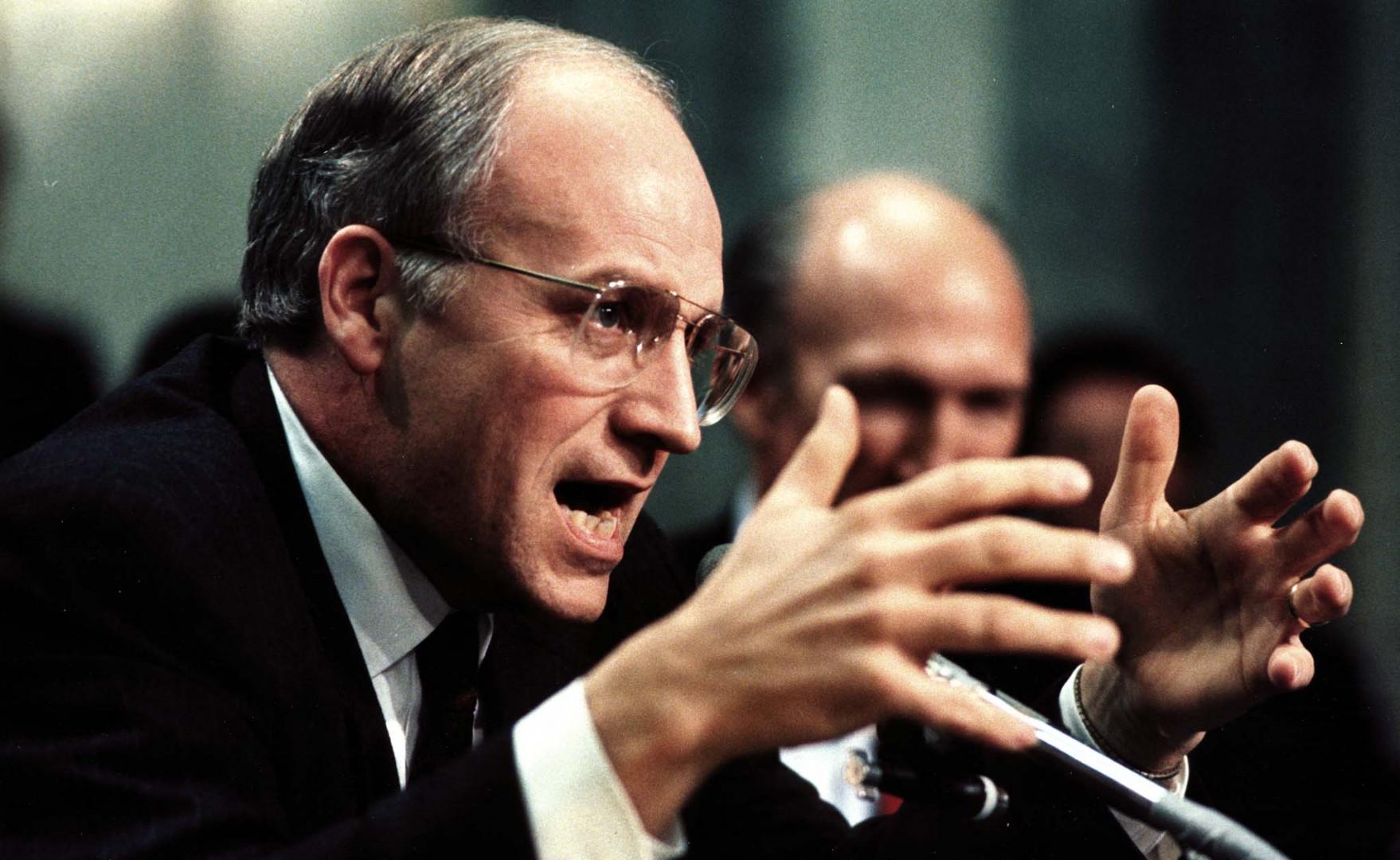 L'ancien secrétaire à la Défense Dick Cheney en 1989