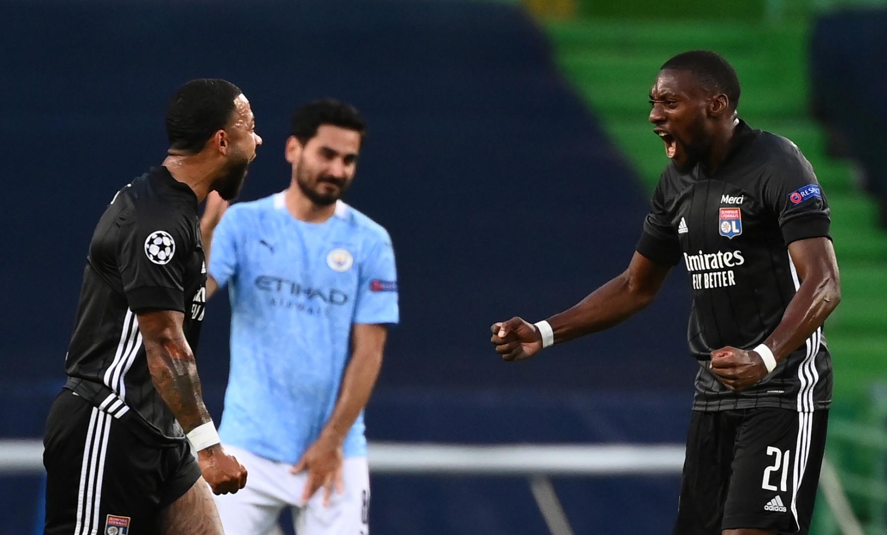 15 août : tombeur de la Juve en 8es, le Lyon de Depay et Toko-Ekambi réalise un nouvel exploit face à Manchester City