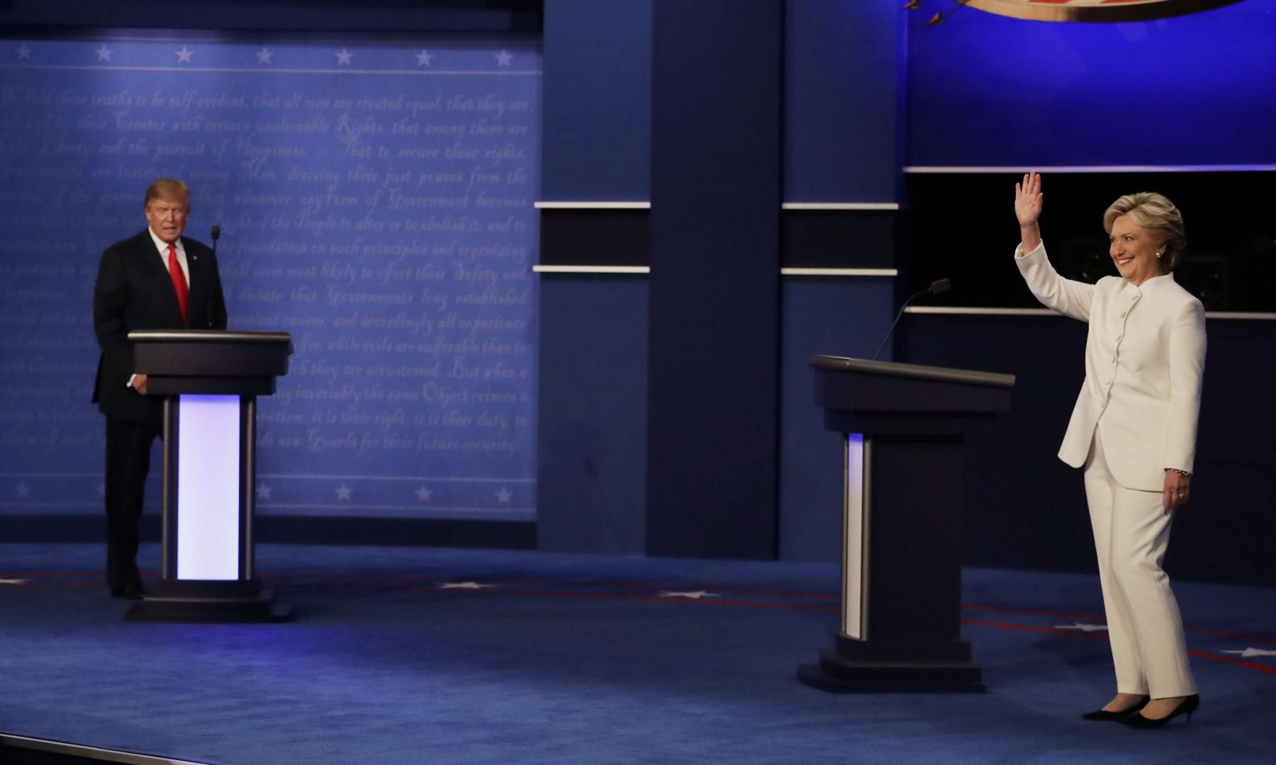 À Las Vegas, dernier débat entre les deux candidats