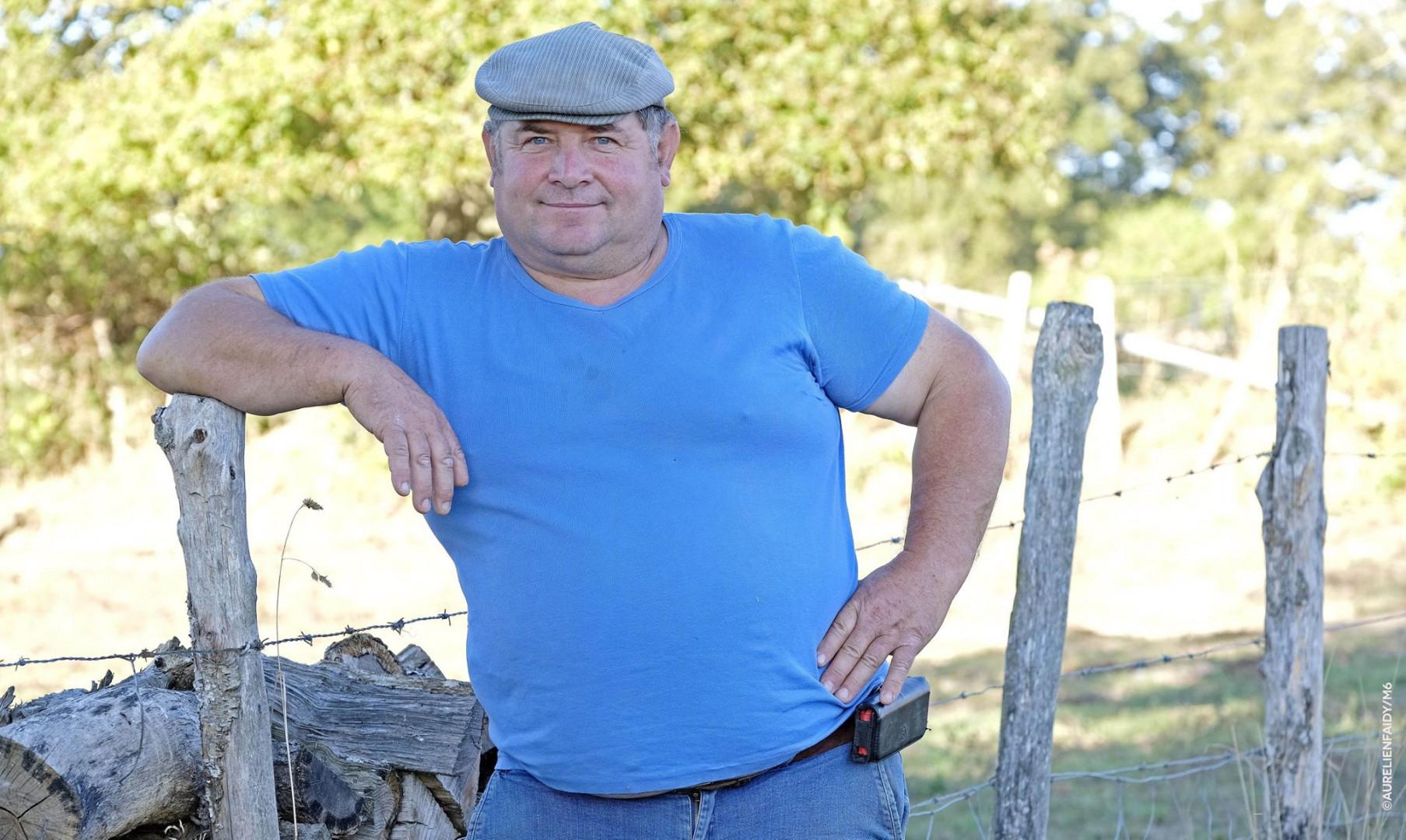 Gérard, 52 ans, éleveur de vaches et de brebis en Nouvelle Aquitaine
