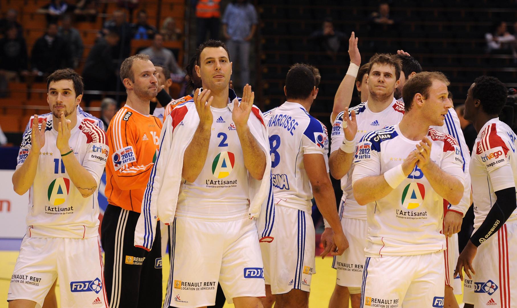 L'équipe de France de handball masculin a été championne Olympique en 2008 et en 2012