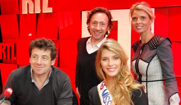 Patrick Bruel, Stéphane Bern, Camille Cerf et Sylvie Tellier