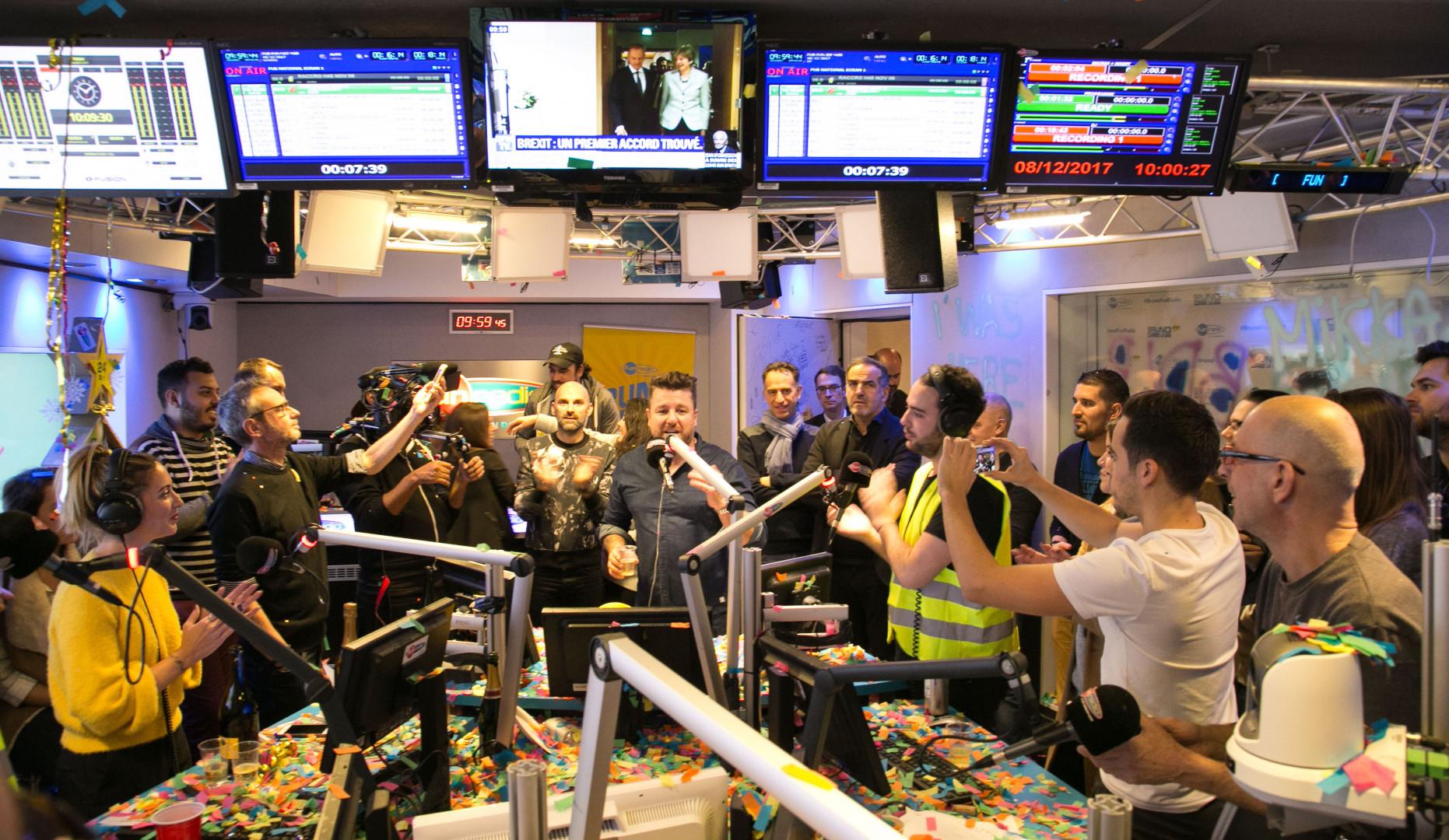 Fin d'émission pour Bruno Dans La Radio