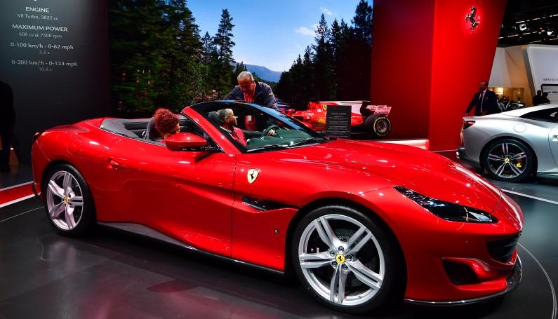 """La nouvelle Ferrari Portofino a été sacrée """"Voiture préférée des enfants"""""""