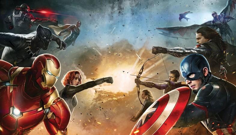 L'équipe d'Iron Man affronte celle de Captain America.