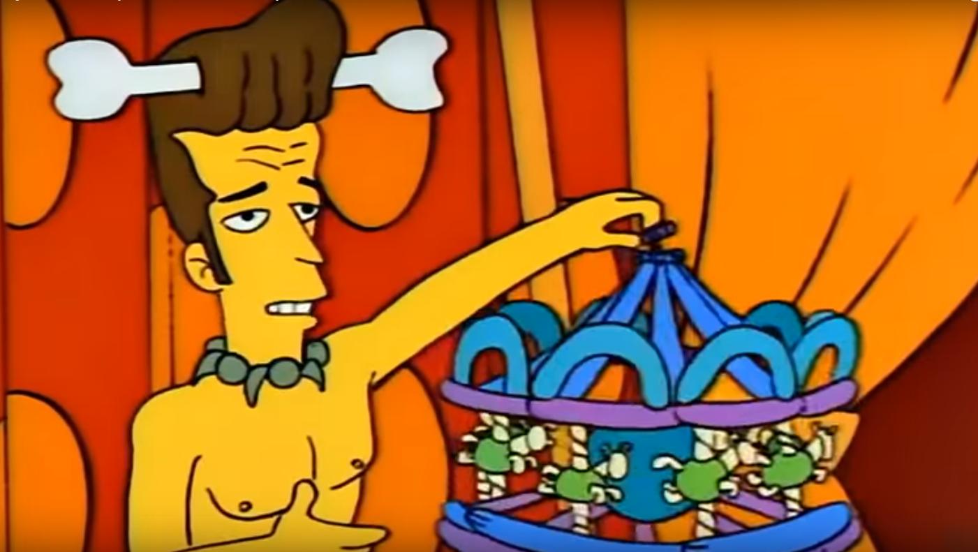"""""""Les Simpson"""", saison 4, épisodes 22 - Luke Perry a même eu droit à son personnage dans la série animée américain en 1992."""