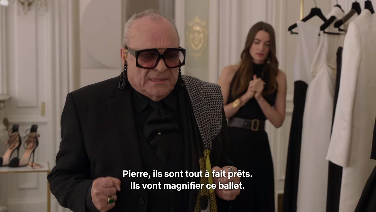 Pierre Cardin + Karl Lagarfeld = Pierre Cadault, couturier