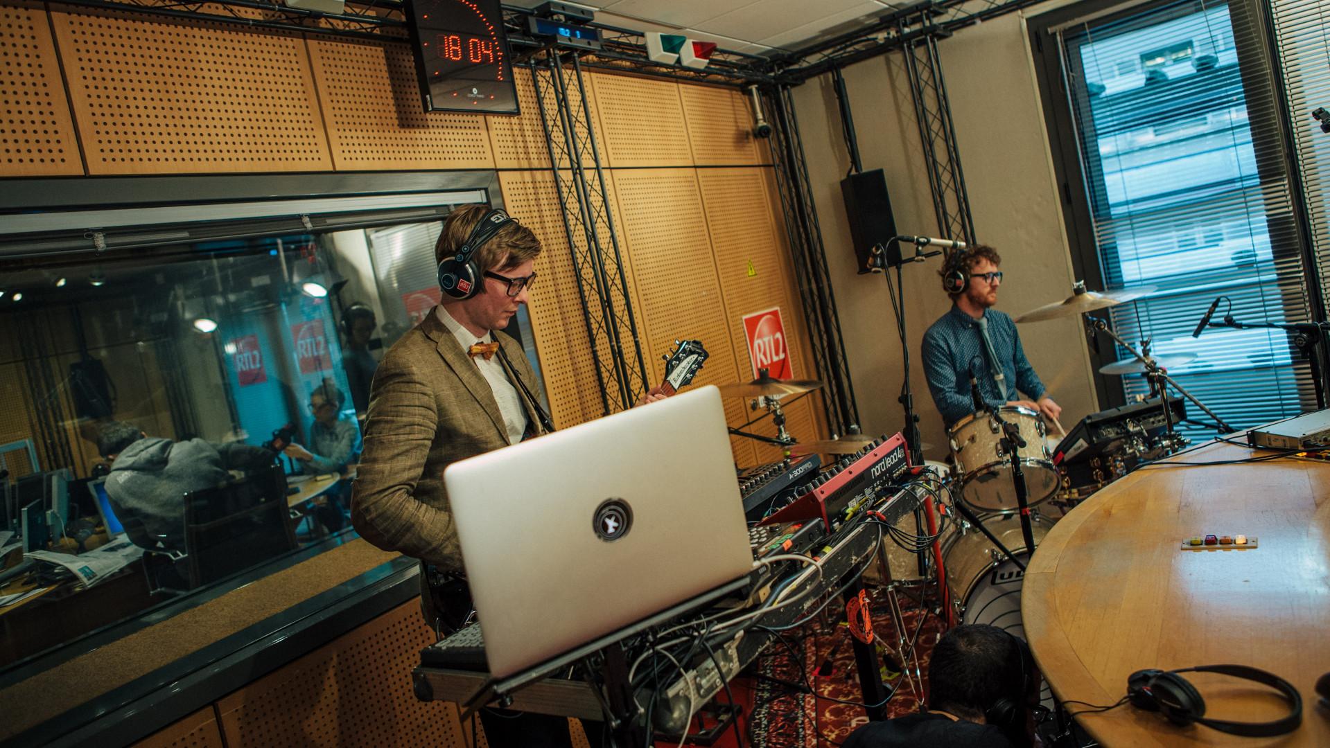 Public Service Broadcasting en Session Très Très Privée dans les studios de RTL2