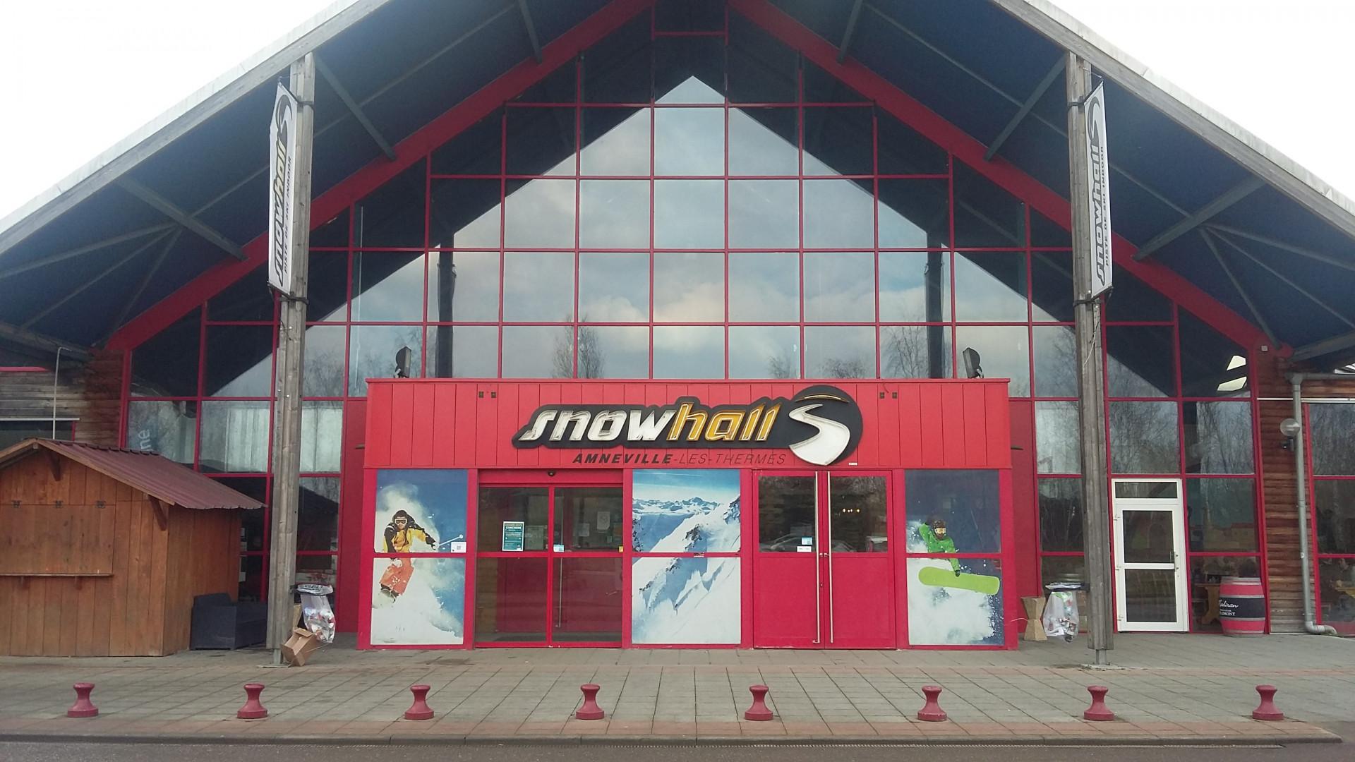 Le Snowhall à Amnéville