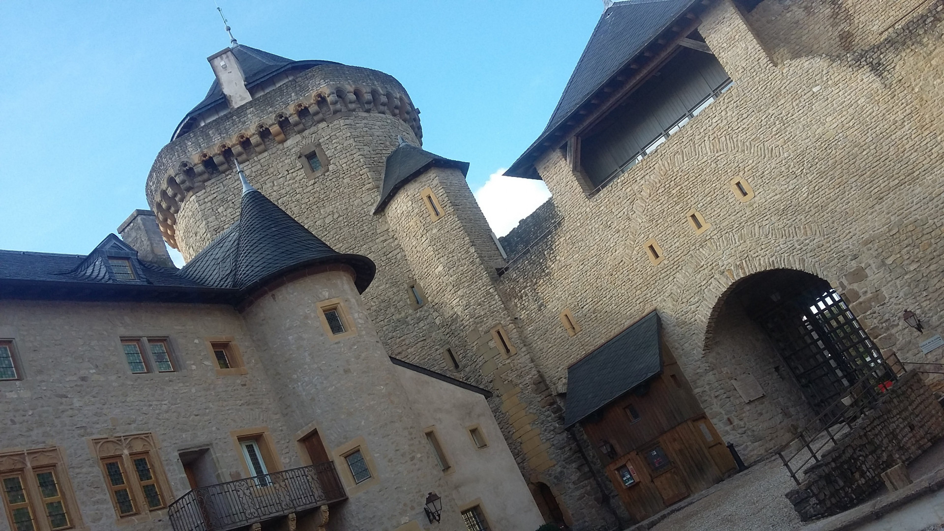 Le château de Malbrouck à Manderen