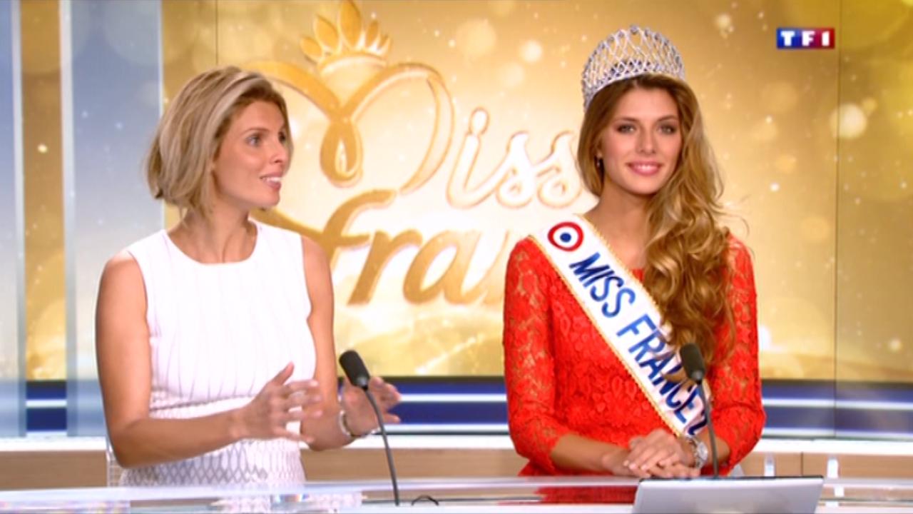 Camille Cerf au JT de 13 heures de Jean-Pierre Pernaut sur TF1, le 8 décembre.