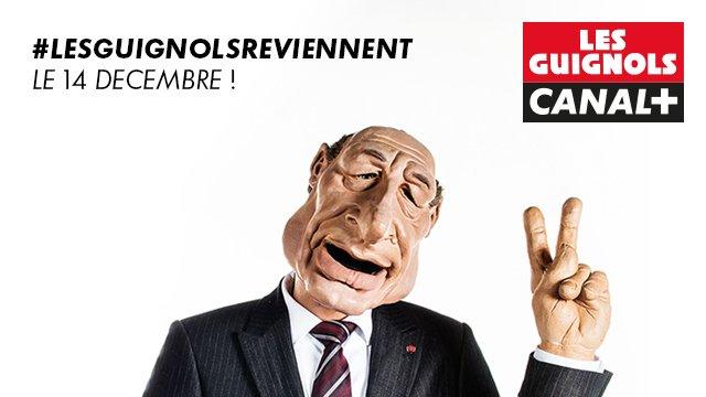 Les guignols reviennent sur Canal+ lundi 14 décembre 2015