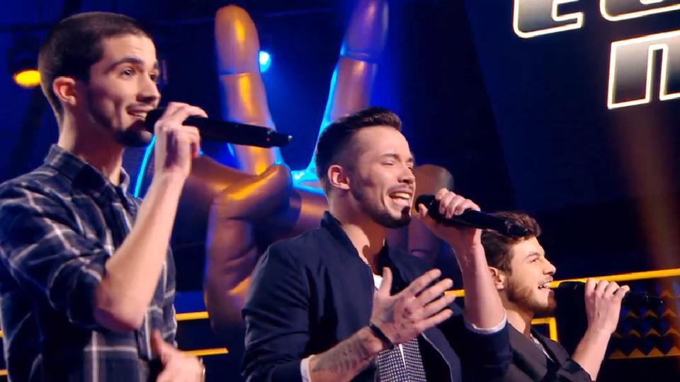 """Le trio Arcadian, team Mika, participera aux primes de """"The Voice"""""""