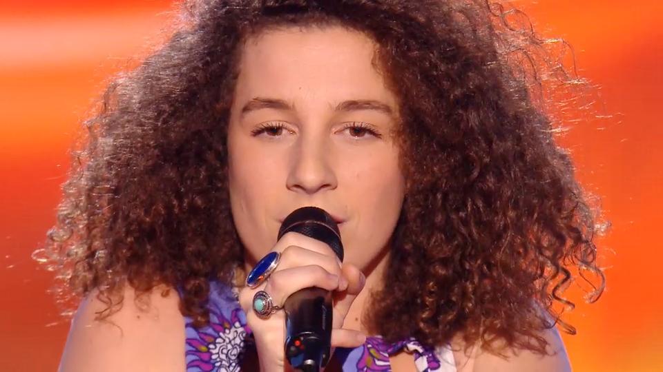 """La pétillante Amandine de l'équipe de Florent Pagny a été sélectionnée pour les primes de """"The Voice"""""""