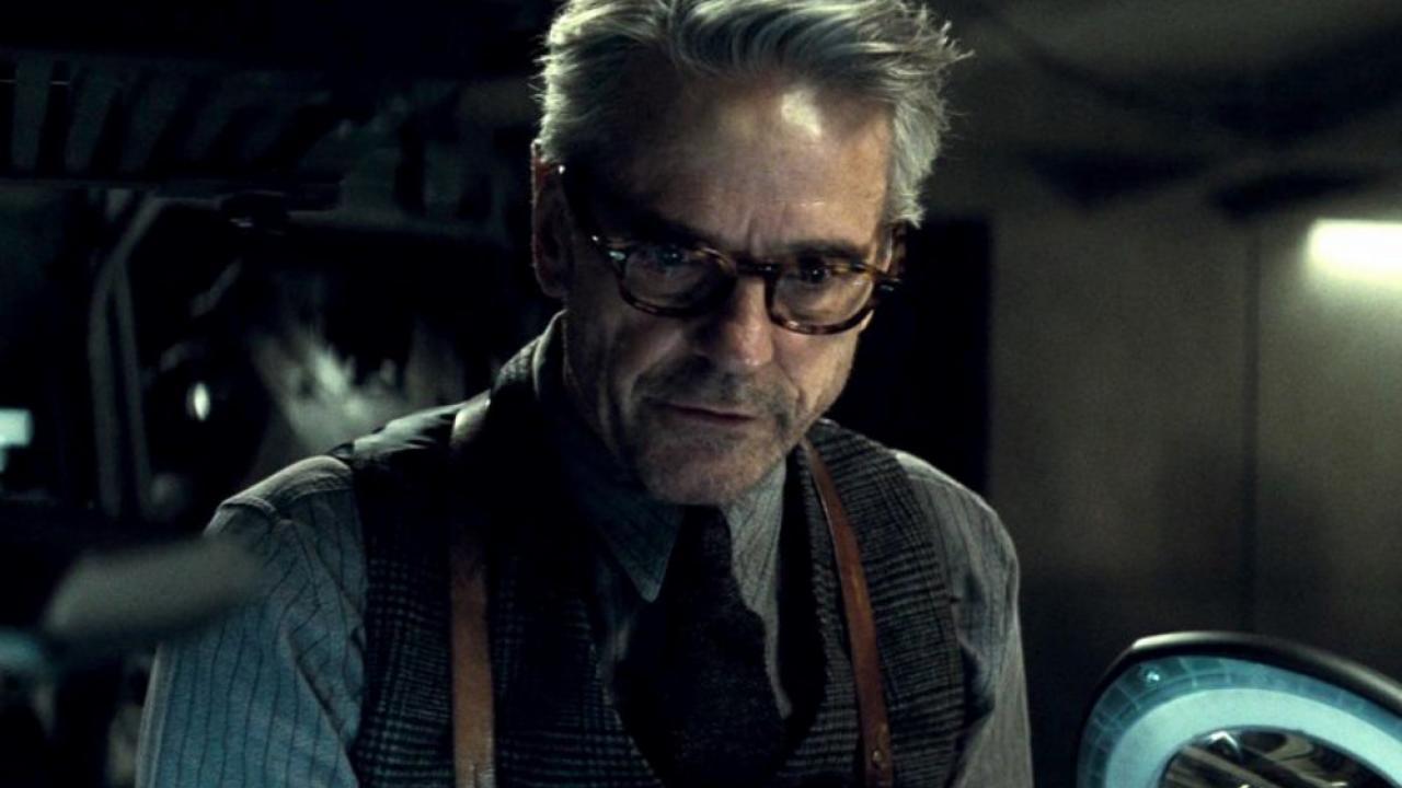 """Jeremy Irons incarnait le majordome dans """"Batman v Superman"""" ou """"Justice League"""""""