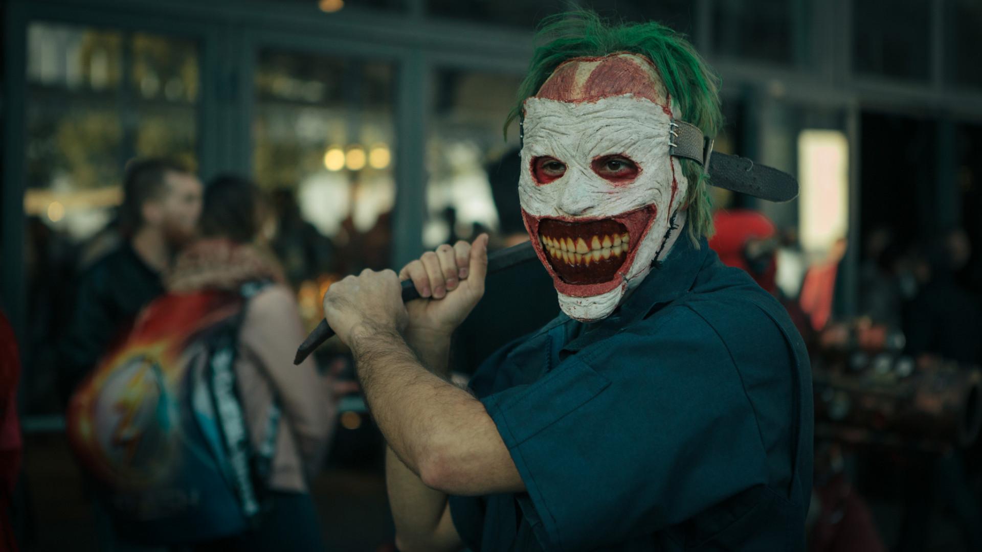 Le Joker fait partie des cosplayers les plus présents