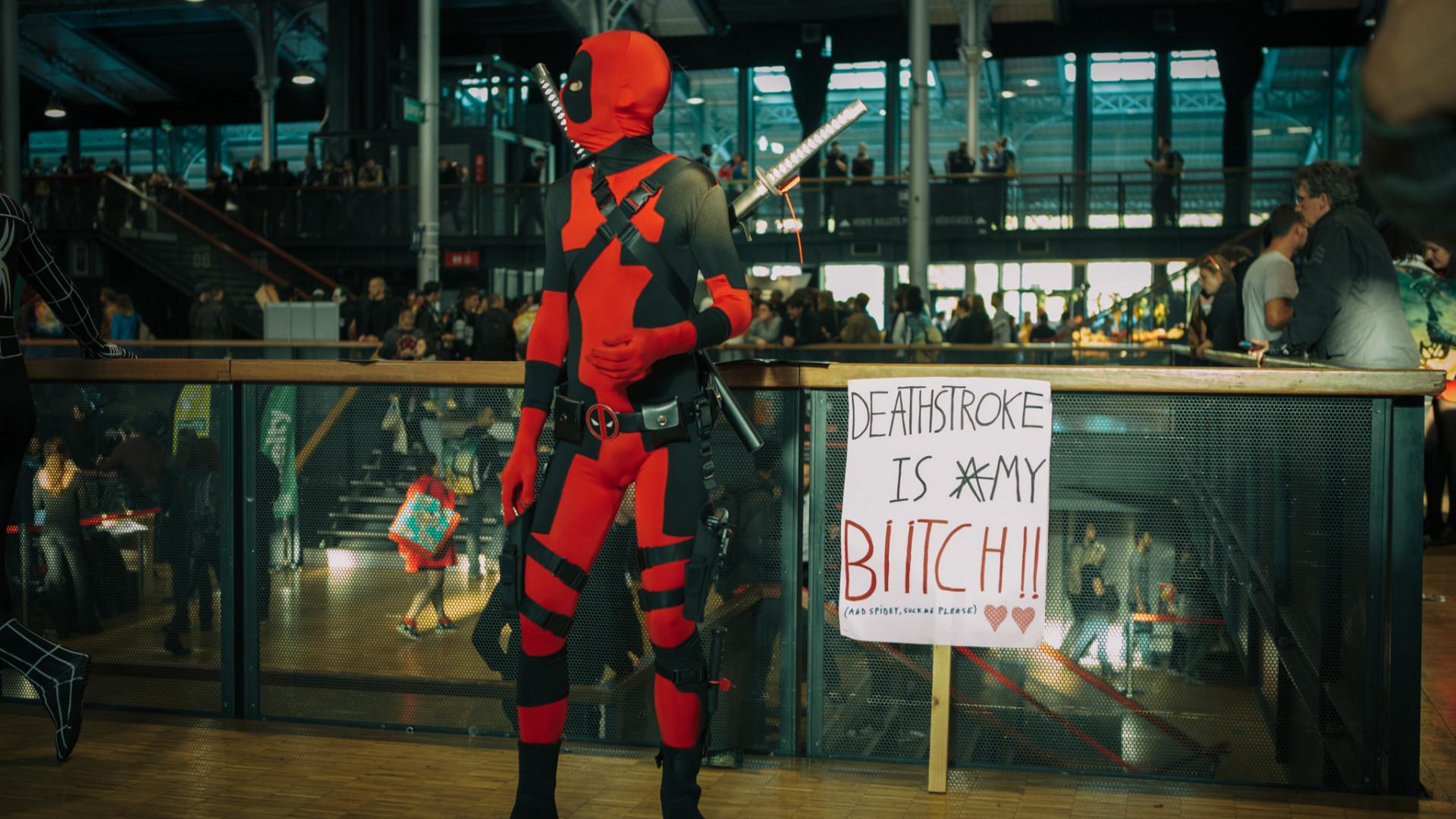 Deadpool toujours prêt à faire des bêtises