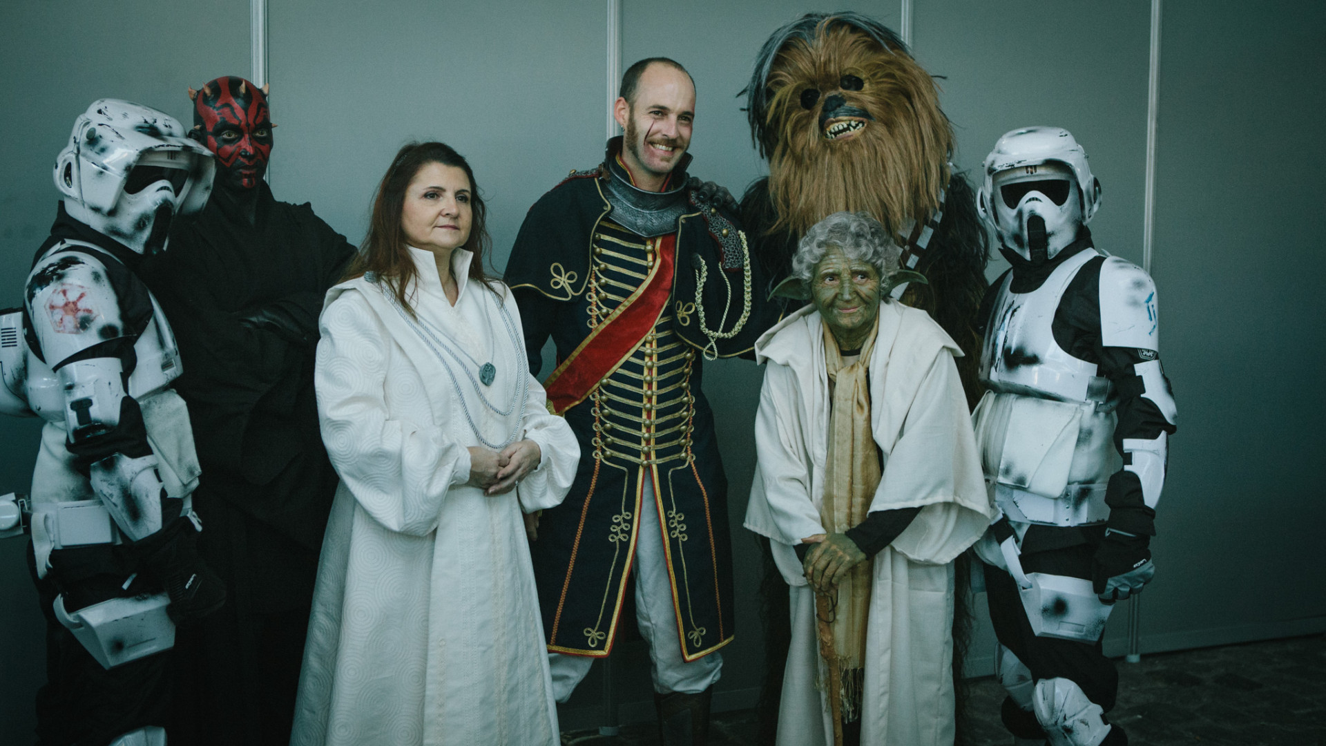 """La Force est puissante dans ce groupe """"Star Wars"""""""