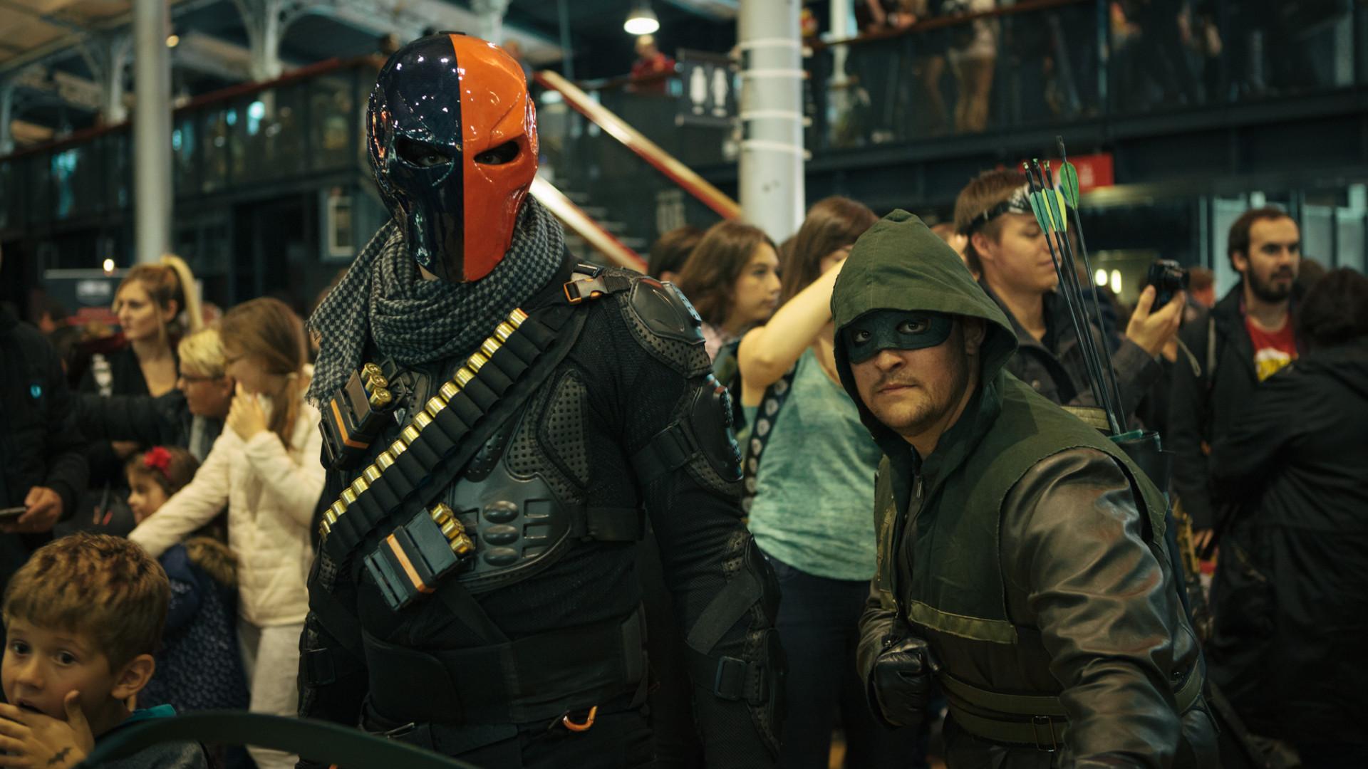 Deathstroke et Arrow