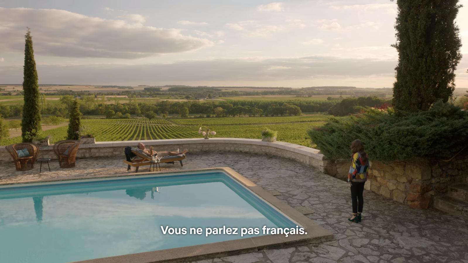 Les Français, ces grands libertins qui se moque de la nudité (au milieu de vignes de Champagne)...