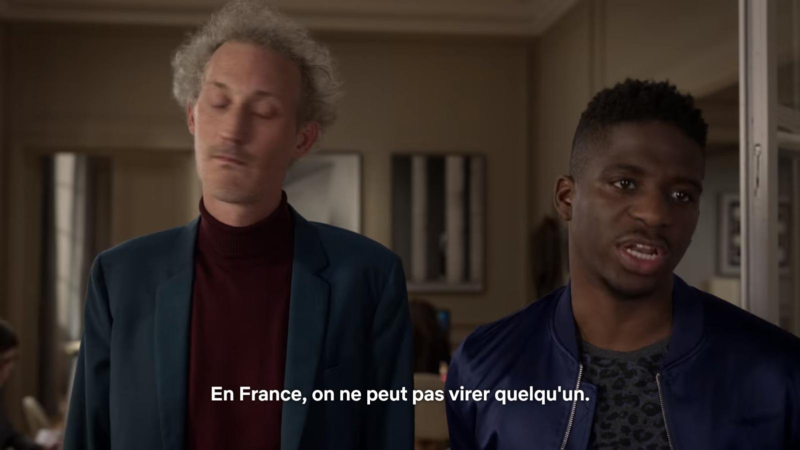 En France, il est impossible de licencier quelqu'un...