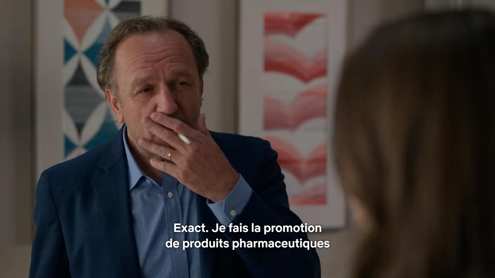 """La loi Evin ? Les Français d'""""Emily in Paris"""" ne la connaissent pas."""