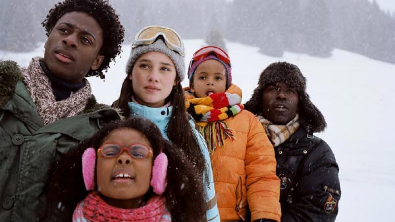 """""""La Première étoile"""" (2009). Comédie française de Lucien Jean-Baptiste avec les premières vacances au ski d'une famille. Récompensé à l'Alpe d'Huez."""