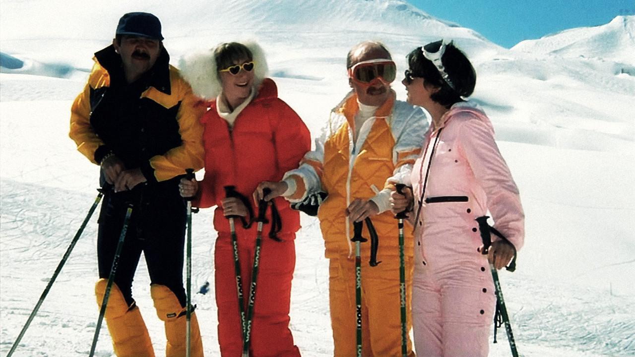"""""""Les Bronzés font du ski"""" (1979). On ne présente plus ce monument du cinéma populaire français avec la troupe du Splendid."""